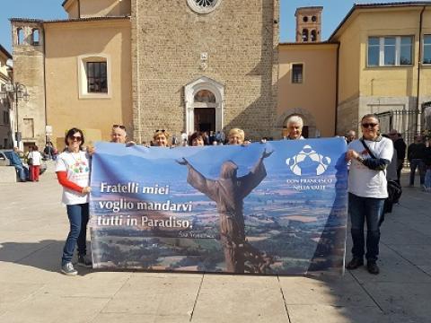 Con Francesco nella Valle: il bilancio della prima edizione